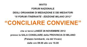 forum conciliare 2012